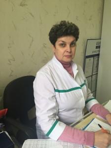 Русина Елена Васильевна - Главная медицинская сестра