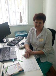 Чемерис Татьяна Геннадьевна - старшая медицинская сестра детского отделения