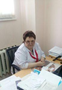 Кубанцева Светлана Ивановна - старшая медицинская сестра регистратуры