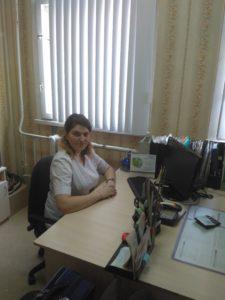 Дубовенко Алина Викторовна - старшая медицинская сестра терапевтического отделения