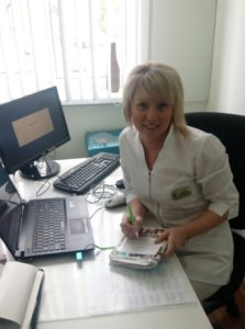 Муратова Анна Валерьевна - старшая медицинская сестра детского отделения